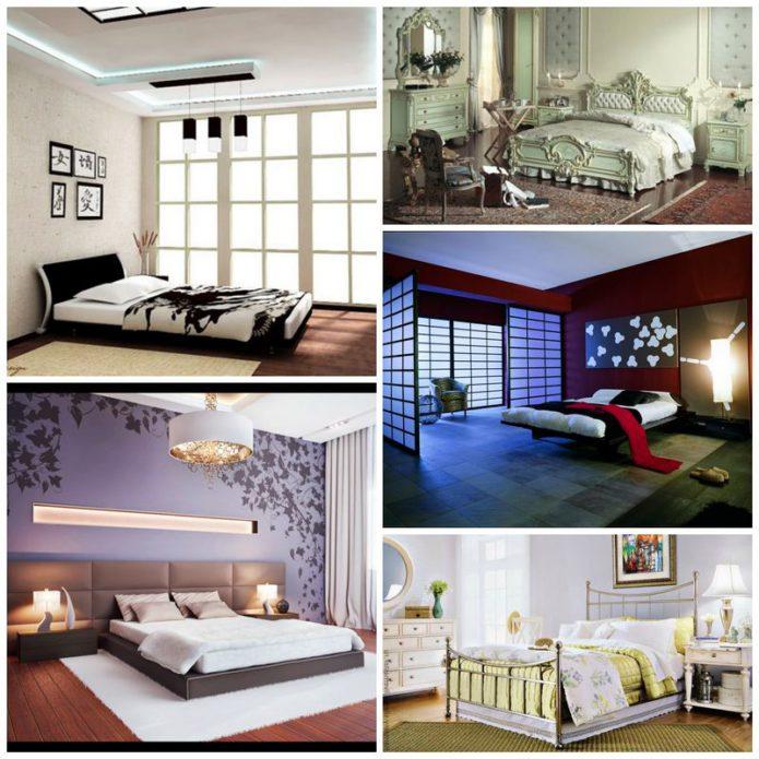Поиск стилевого направления для спальной комнаты