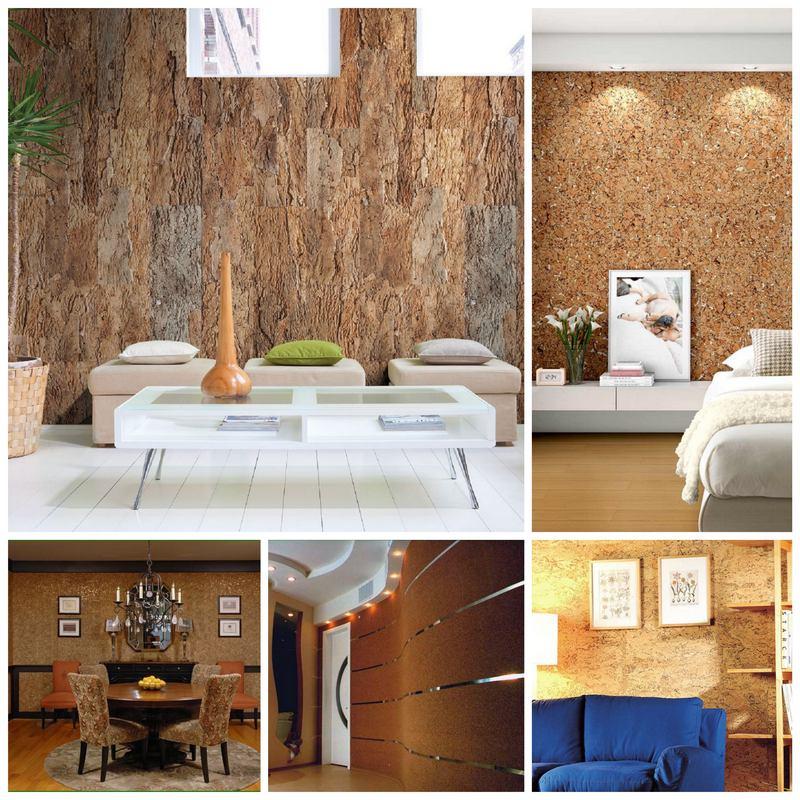 Пробковые покрытия для стен - в чем их преимущество?