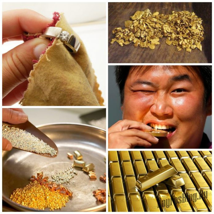 Тесты для определения подлинности золотых драгоценностей