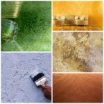 Отделка поверхности стен декоративной штукатурной смесью