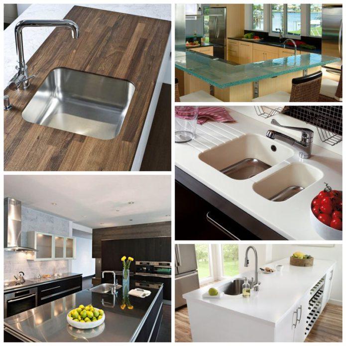 Столешницы. Выбор кухонного интерьера