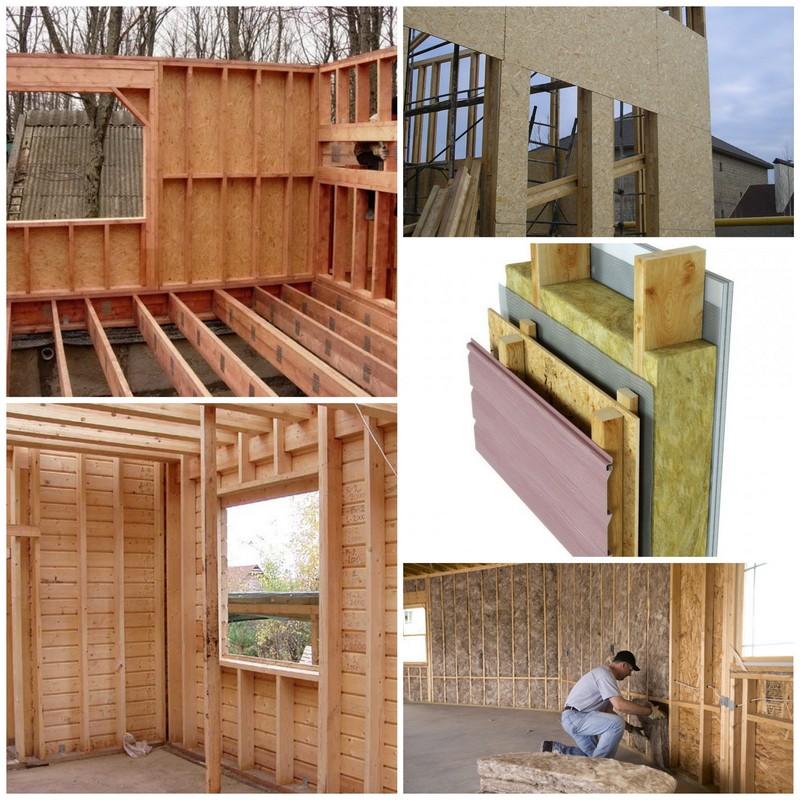 Каркасные деревянные стены для вашего дома