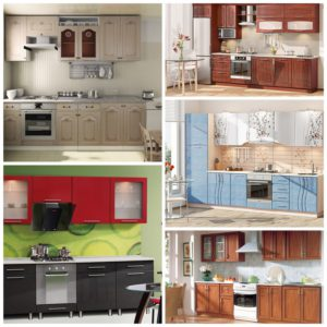 Как выбрать фасад для кухонного набора