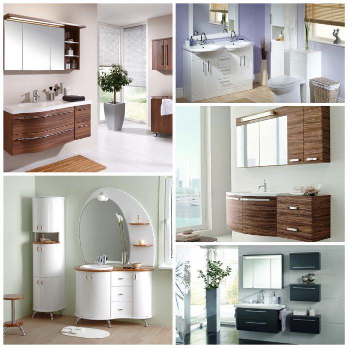 Подбираем мебель для ванных комнат разных размеров