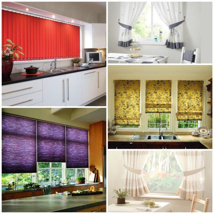 Как правильно выбрать шторы на кухню?