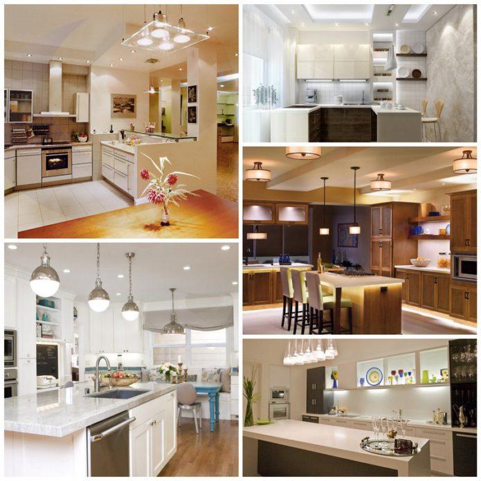 Освещение для кухни - основные моменты