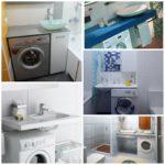 Умывальник над стиральной машиной: как правильно выбрать и установить
