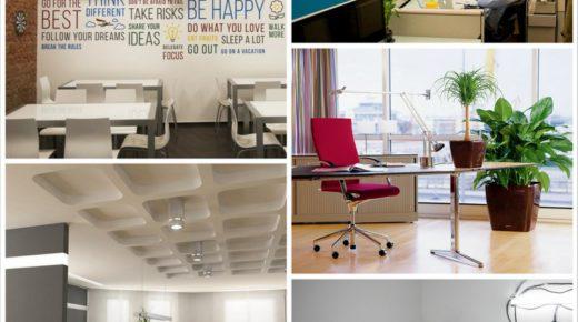 Рекомендуемая цветовая гамма в интерьере офиса