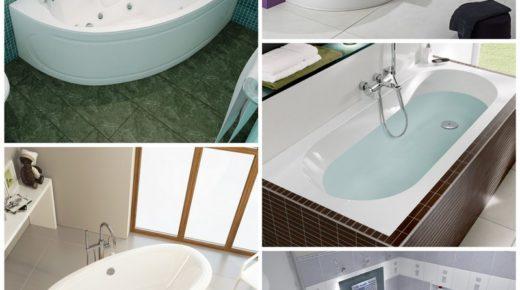 Лучшие акриловые ванны для просторных ванных комнат