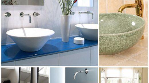Как правильно расположить раковину в интерьер ванной комнаты
