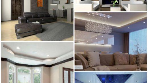 Натяжные потолки — эстетика и практичность
