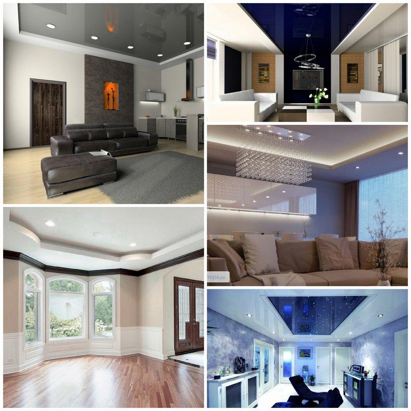 Натяжные потолки - эстетика и практичность