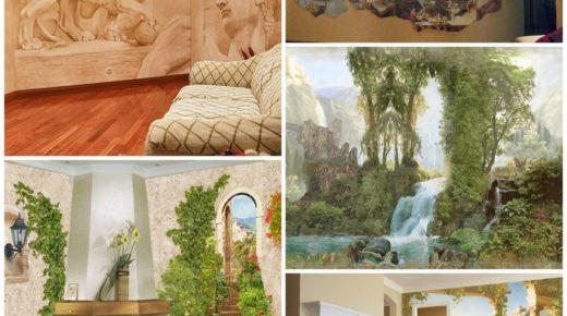 Особенности современных фресок