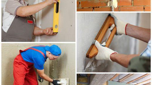 Выравнивание стен — технологии ремонта