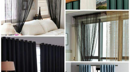 Шторы в спальню — советы дизайнера интерьера