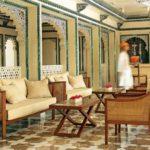 Дизайн восточного ресторана The Taj Lake Palace