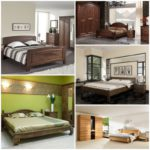 Какой текстиль хорошо сочетается со спальнями из массива