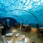 Современный дизайн ресторана Ithaa