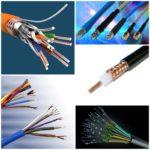 Виды кабелей для сетей интернет