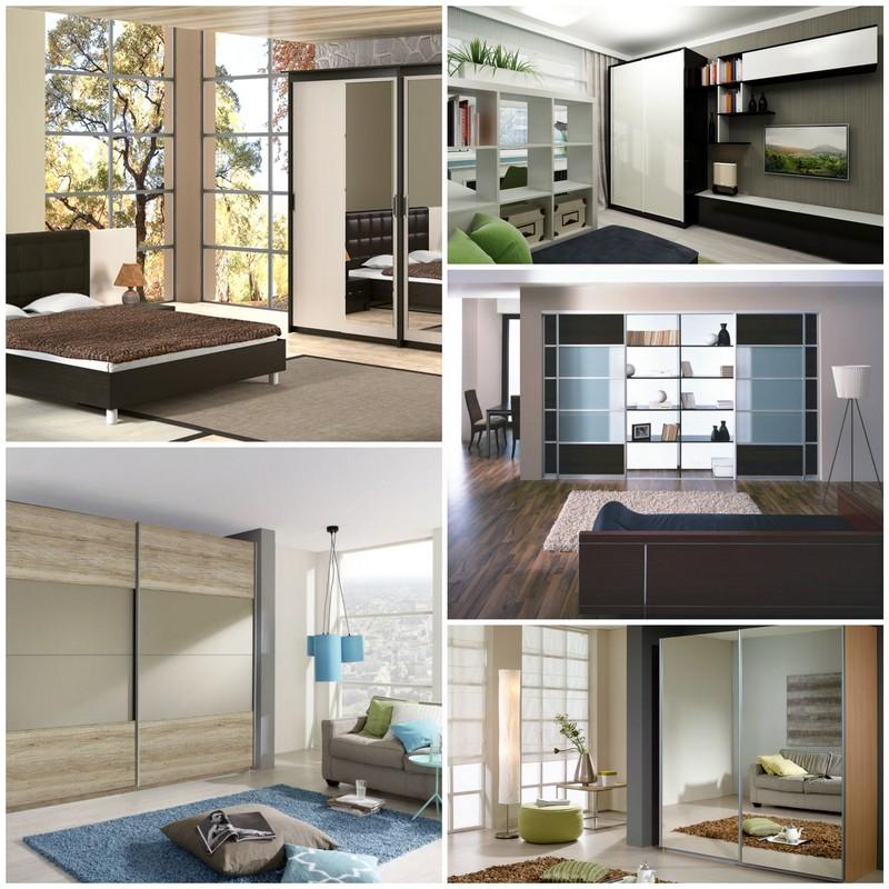 Шкафы-купе в интерьере - совмещение эстетики и функциональности