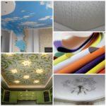 Тканевые натяжные потолки — современные технологии строительства