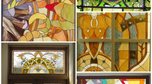 Художественные витражи — украшение вашего дома
