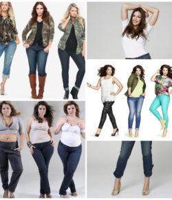 Проблема выбора одежды больших размеров – выбираем джинсы для полных
