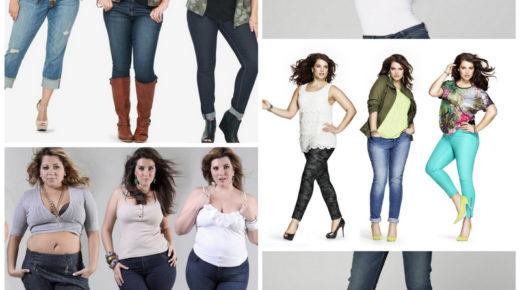 Проблема выбора одежды больших размеров — выбираем джинсы для полных