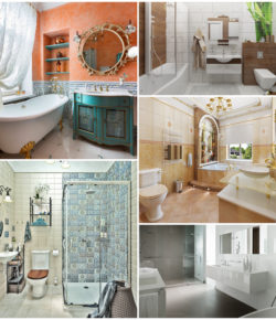 Уникальный стиль дизайна ванной комнаты – полезны идеи и советы