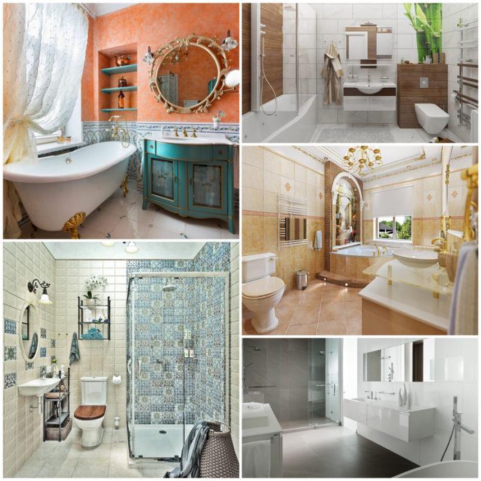 Уникальный стиль дизайна ванной комнаты - полезны идеи и советы