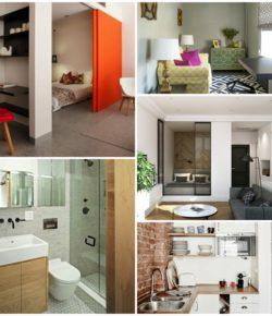 Интерьер маленькой квартиры — советы дизайнера