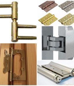 Дверные петли и их классификация