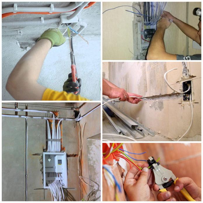 Как осуществляется замена электропроводки в доме или квартире