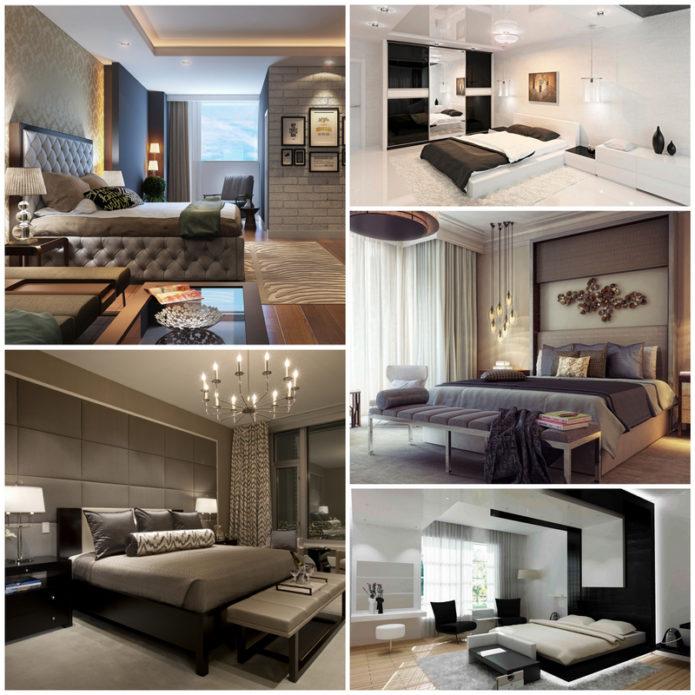 Как создать интерьер спальни в современном стиле