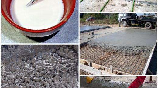 Пластификатор для бетона — разновидности, сфера применения химических добавок
