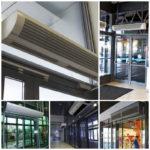 Тепловая завеса – современные технологии тепла