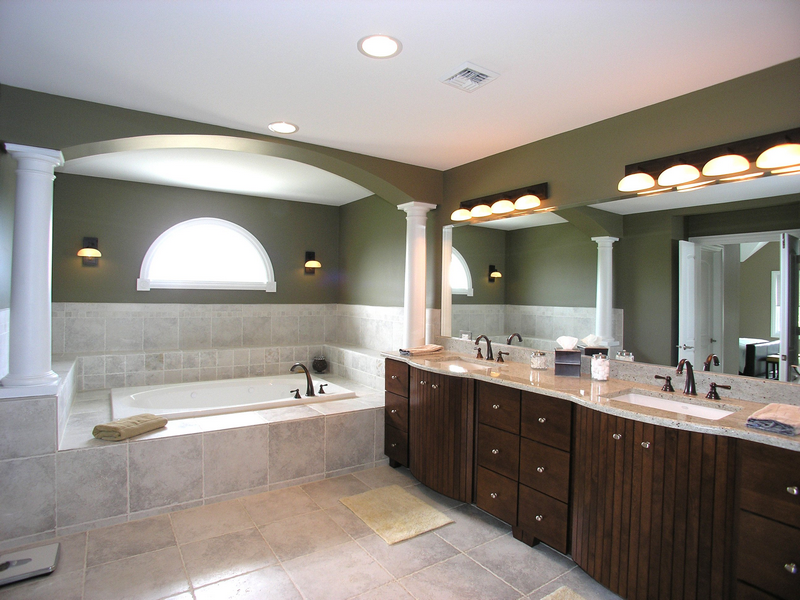 Как сделать освещение в ванной комнате