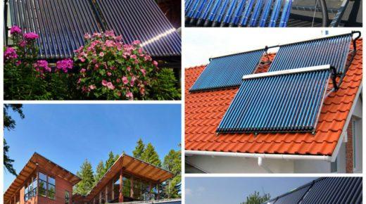 Солнечные коллекторы для дома – особенности выбора и монтажа