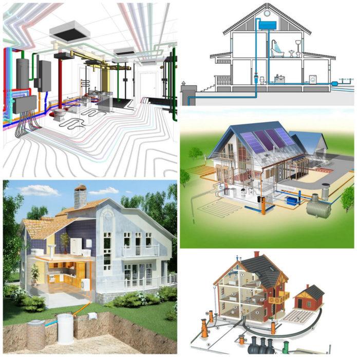 Инженерные коммуникации в частном доме