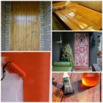 Входная дверь и варианты её отделки