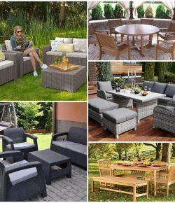 Садовая мебель — советы по выбору