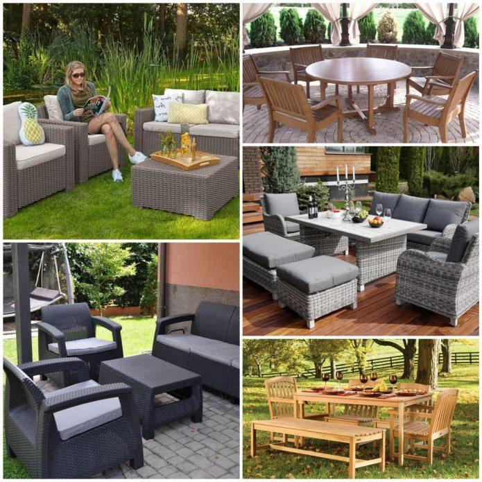 Садовая мебель - советы по выбору
