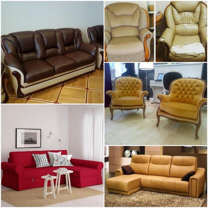 Перетяжка мягкой мебели – подарите вторую жизнь своему дивану