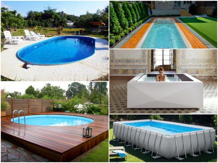 Какой бассейн построить возле дома?