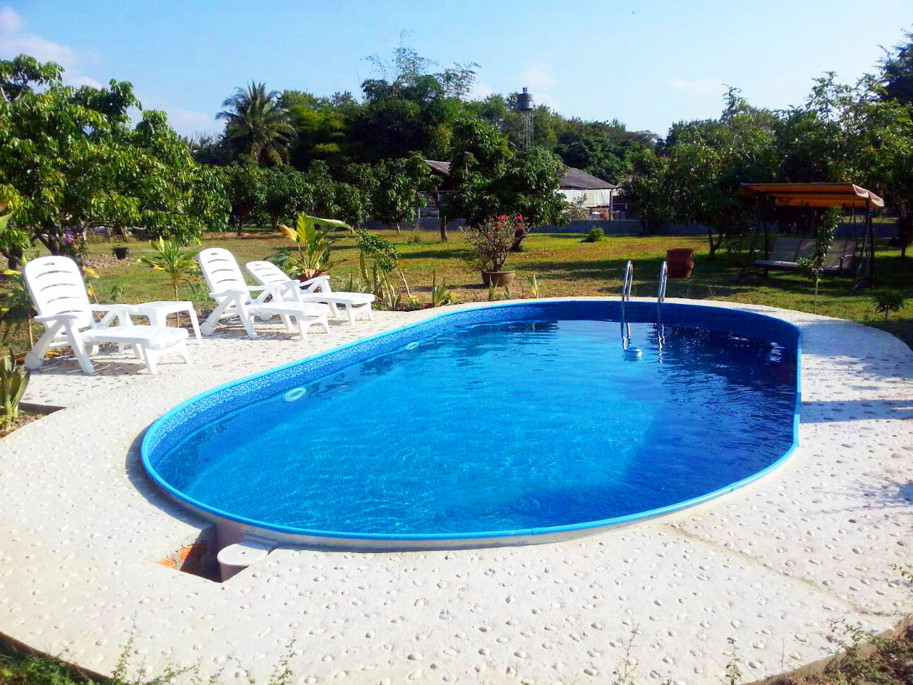 Виды бассейнов для дома