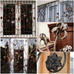 Кованые элементы: решетки, кованые листья и цветы любых размеров