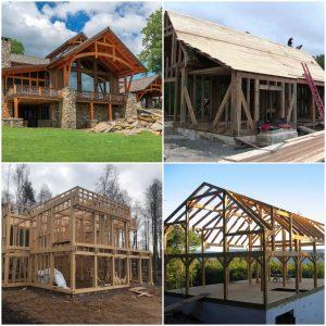Современное строительство каркасных деревянных домов