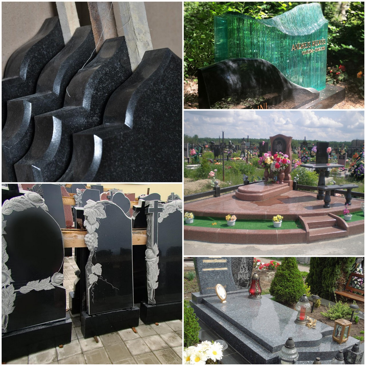 Надгробные памятники - выбираем художественное оформление